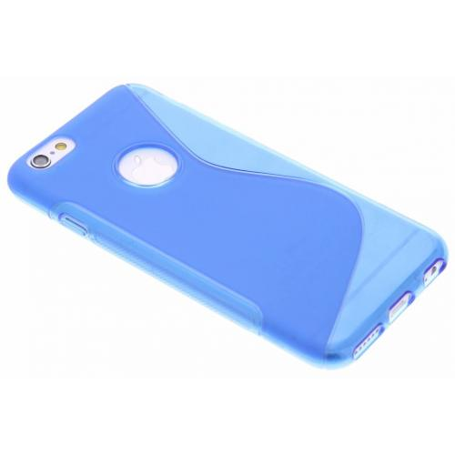 S-line Backcover voor iPhone 6 / 6s - Blauw