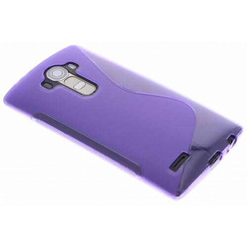 S-line Backcover voor LG G4 - Paars