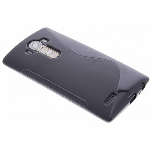 S-line Backcover voor LG G4 - Zwart