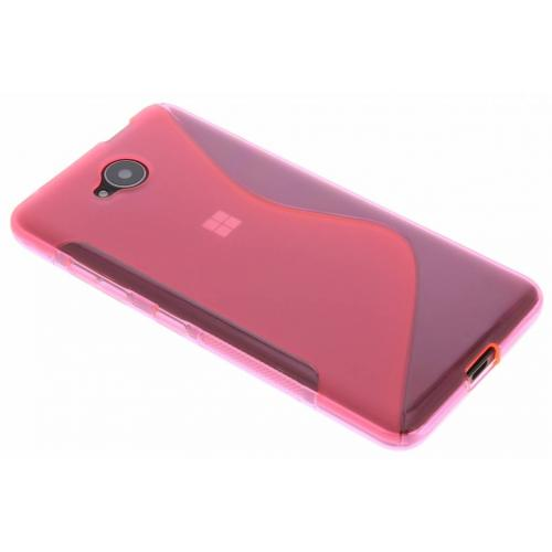 S-line Backcover voor Microsoft Lumia 650 - Roze