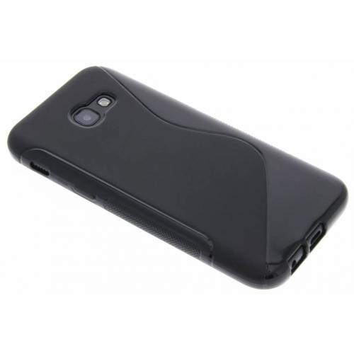S-line Backcover voor Samsung Galaxy A5 (2017) - Zwart