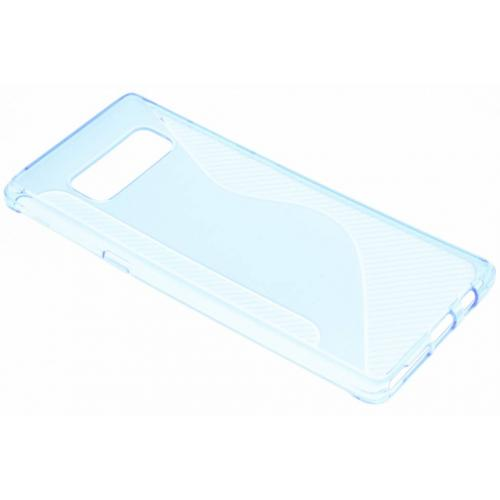 S-line Backcover voor Samsung Galaxy Note 8 - Blauw