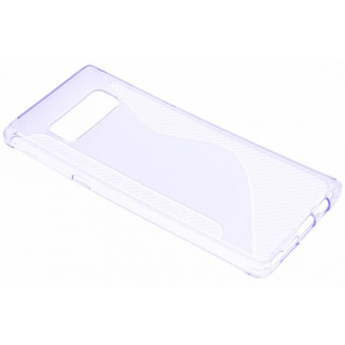 S-line Backcover voor Samsung Galaxy Note 8 - Paars