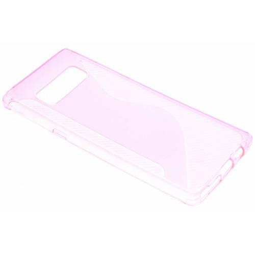 S-line Backcover voor Samsung Galaxy Note 8 - Roze
