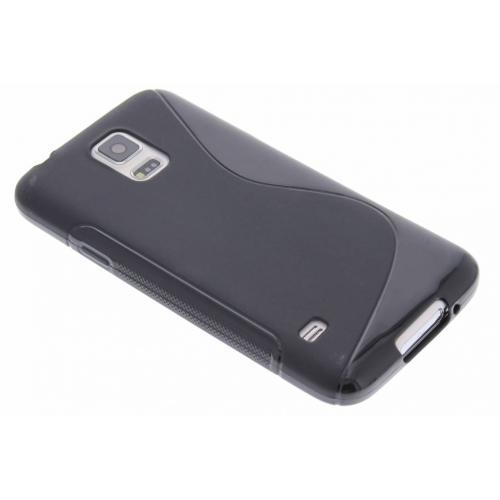 S-line Backcover voor Samsung Galaxy S5 (Plus) / Neo - Zwart
