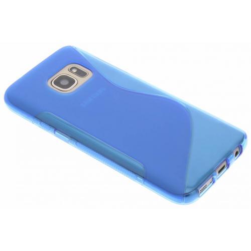 S-line Backcover voor Samsung Galaxy S7 - Blauw