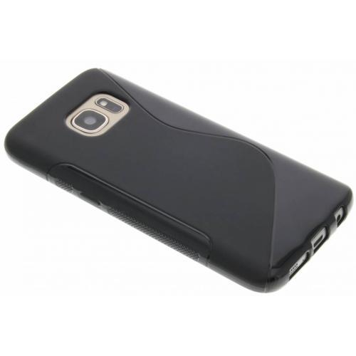 S-line Backcover voor Samsung Galaxy S7 - Zwart