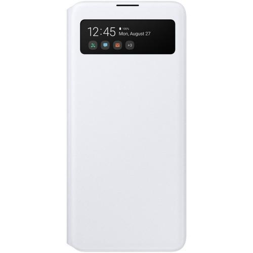 S View Cover voor de Galaxy A51 - Wit