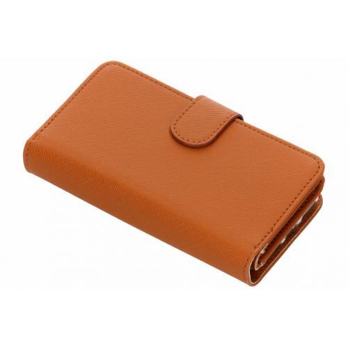 Saffiano 9 slots Portemonnee voor iPhone 8 / 7 / 6s / 6 - Oranje
