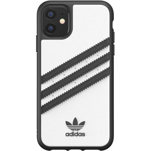 Samba Backcover voor de iPhone 11 - Wit / Zwart