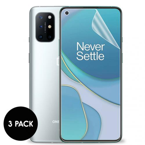 Screenprotector Folie 3 pack voor de OnePlus 8T