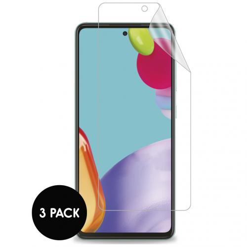 Screenprotector Folie 3 pack voor de Samsung Galaxy A52 (5G) / A52 (4G)