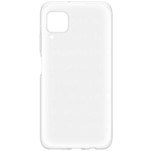 Silicone Backcover voor de Huawei P40 Lite - Transparant