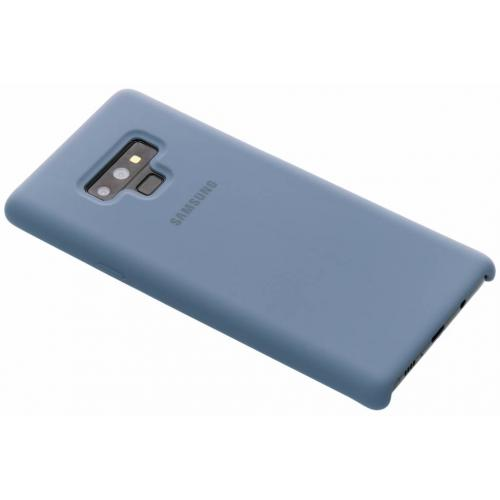 Silicone Backcover voor Samsung Galaxy Note 9 - Blauw