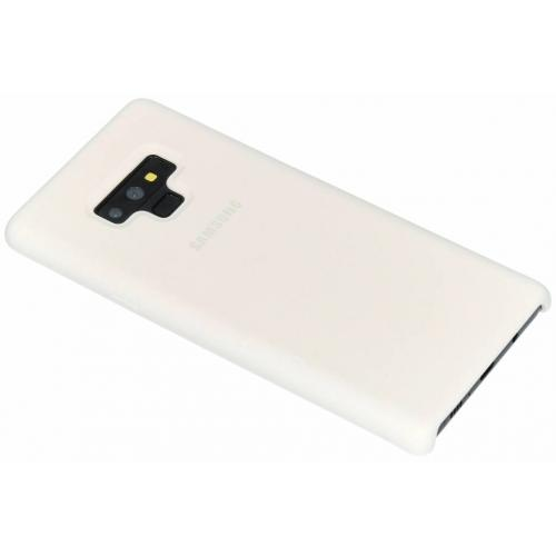 Silicone Backcover voor Samsung Galaxy Note 9 - Wit