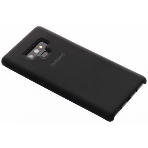 Silicone Backcover voor Samsung Galaxy Note 9 - Zwart