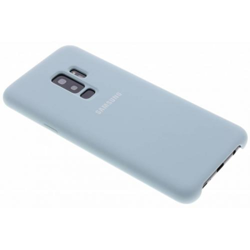 Silicone Backcover voor Samsung Galaxy S9 Plus - Blauw