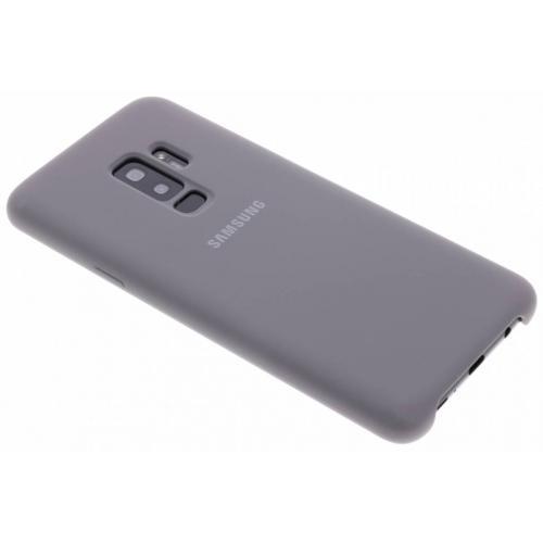 Silicone Backcover voor Samsung Galaxy S9 Plus - Grijs
