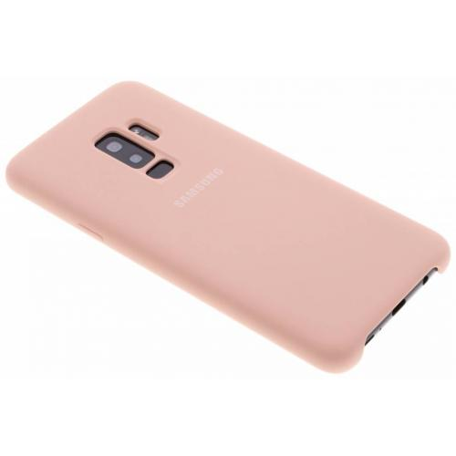 Silicone Backcover voor Samsung Galaxy S9 Plus - Roze