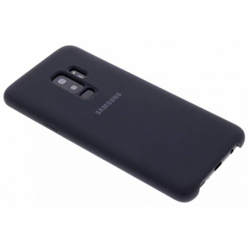 Silicone Backcover voor Samsung Galaxy S9 Plus - Zwart
