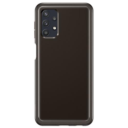 Silicone Clear Cover voor de Galaxy A32 (5G) - Zwart