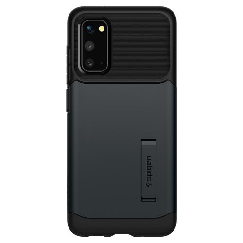Slim Armor Backcover voor de Samsung Galaxy S20 - Grijs