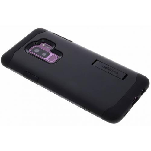 Slim Armor Backcover voor Samsung Galaxy S9 Plus - Zwart