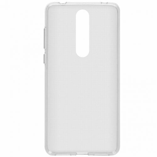 Slim Backcover voor Nokia 3.1 Plus - Transparant