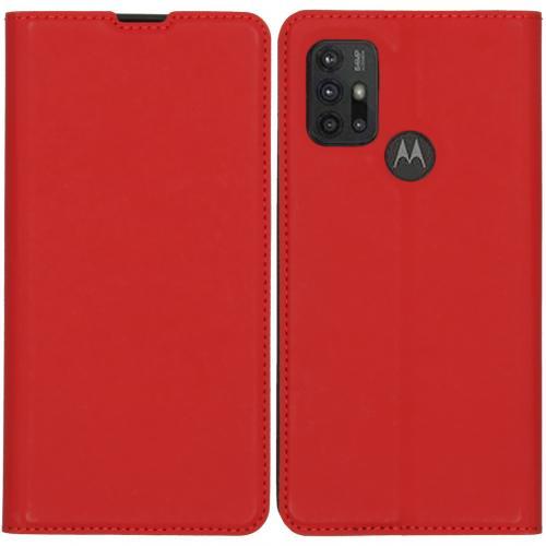 Slim Folio Book Case voor de Motorola Moto G30 / G10 (Power) - Rood