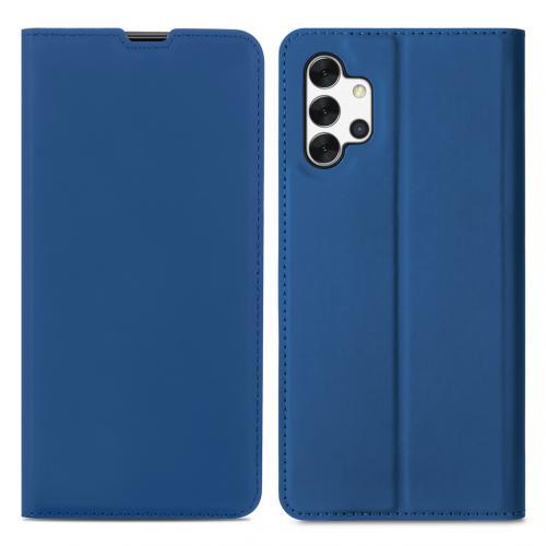 Slim Folio Book Case voor de Samsung Galaxy A32 (5G) - Donkerblauw