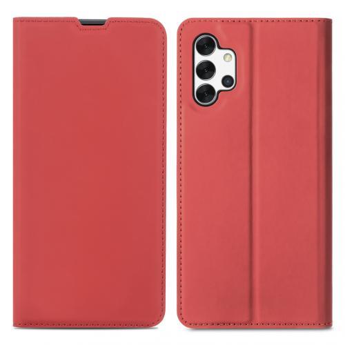 Slim Folio Book Case voor de Samsung Galaxy A32 (5G) - Rood