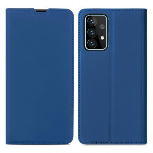 Slim Folio Book Case voor de Samsung Galaxy A52 (5G) / A52 (4G) - Donkerblauw