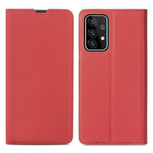 Slim Folio Book Case voor de Samsung Galaxy A52 (5G) / A52 (4G) - Rood