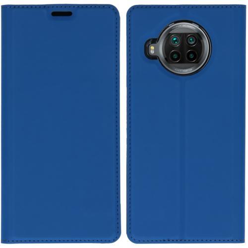 Slim Folio Book Case voor de Xiaomi Mi 10T Lite - Donkerblauw