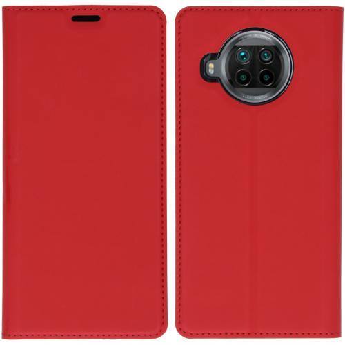 Slim Folio Book Case voor de Xiaomi Mi 10T Lite - Rood