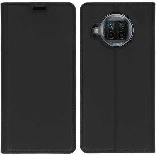 Slim Folio Book Case voor de Xiaomi Mi 10T Lite - Zwart
