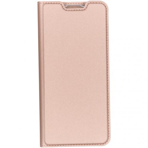 Slim Softcase Booktype voor de Huawei Nova 5t / Honor 20 - Rosé Goud
