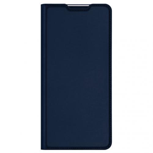 Slim Softcase Booktype voor de Motorola Moto G30 / G10 (Power) - Donkerblauw