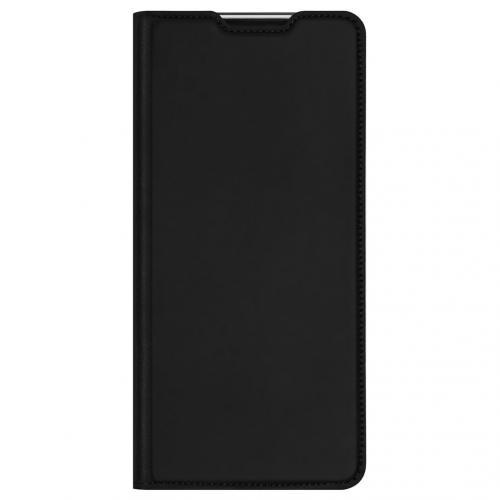 Slim Softcase Booktype voor de Motorola Moto G30 / G10 (Power) - Zwart