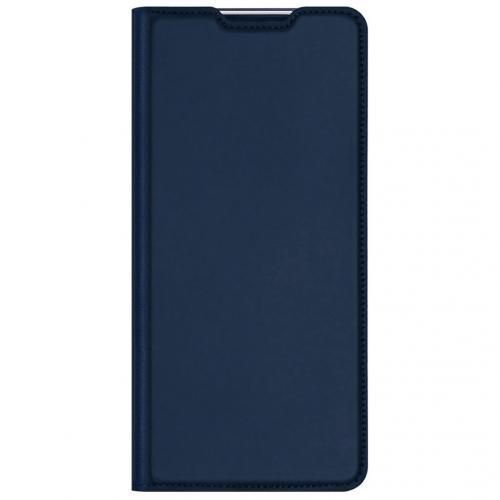 Slim Softcase Booktype voor de Nokia 8.3 5G - Donkerblauw