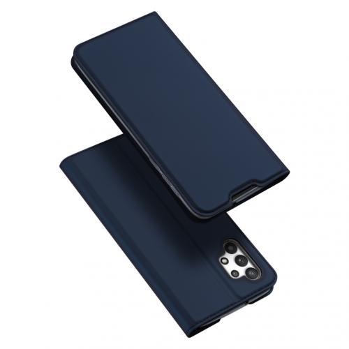 Slim Softcase Booktype voor de Samsung Galaxy A32 (4G) - Donkerblauw