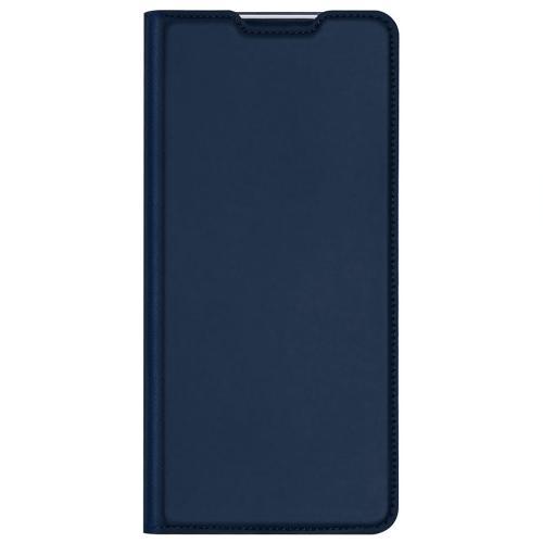 Slim Softcase Booktype voor de Samsung Galaxy A32 (5G) - Donkerblauw