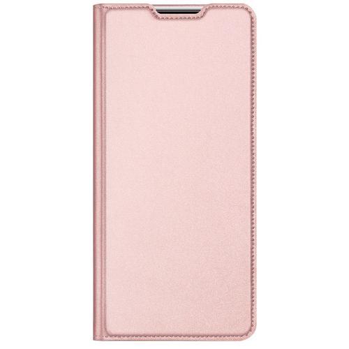 Slim Softcase Booktype voor de Samsung Galaxy A52 (5G) / A52 (4G) - Rosé Goud