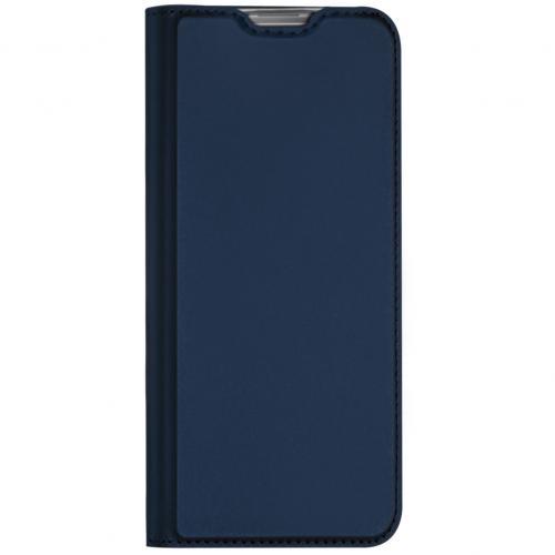 Slim Softcase Booktype voor de Samsung Galaxy Note 10 Lite - Blauw