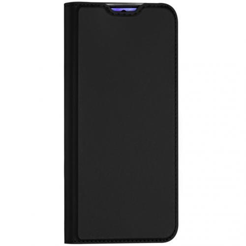Slim Softcase Booktype voor de Samsung Galaxy S20 Plus - Zwart