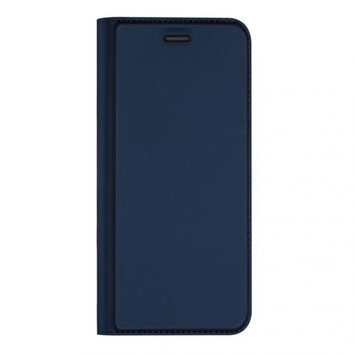 Slim Softcase Booktype voor de Sony Xperia 1 II - Donkerblauw