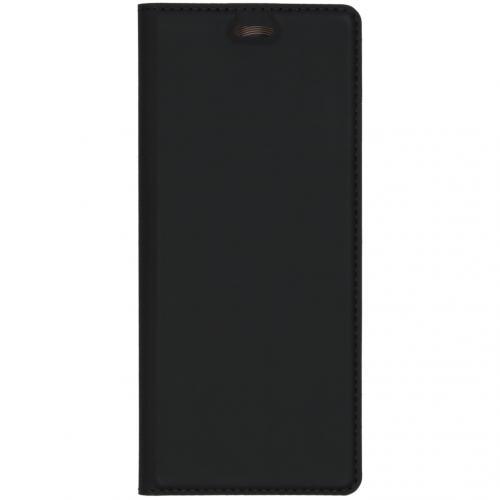 Slim Softcase Booktype voor de Sony Xperia 5 - Zwart