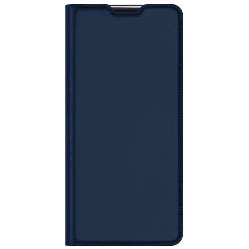 Slim Softcase Booktype voor de Xiaomi Mi 11 - Donkerblauw