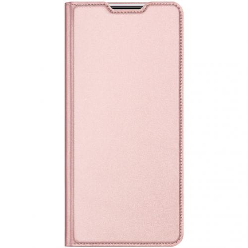 Slim Softcase Booktype voor de Xiaomi Poco F2 Pro - Rosé Goud