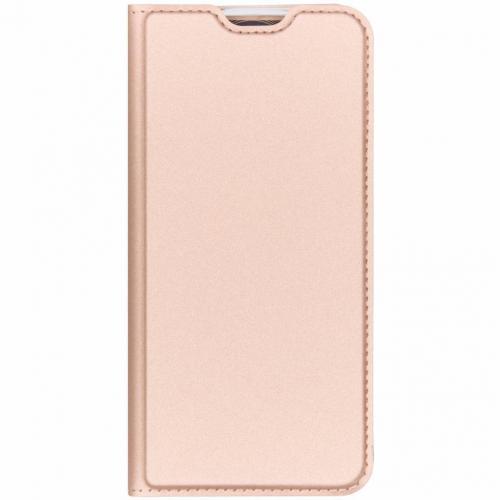 Slim Softcase Booktype voor Honor 10 Lite - Rosé Goud